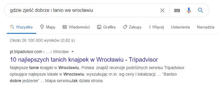 gdzie iść gdzie zjeść dobrze i tanio we Wrocławiu mikromomenty google