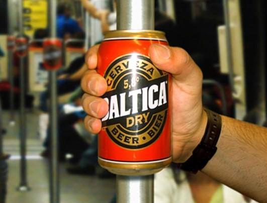 Baltica marketing partyzancki przykład przestrzeń miejska