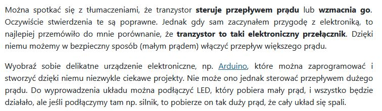 Jak działa tranzystor - czytelna definicja