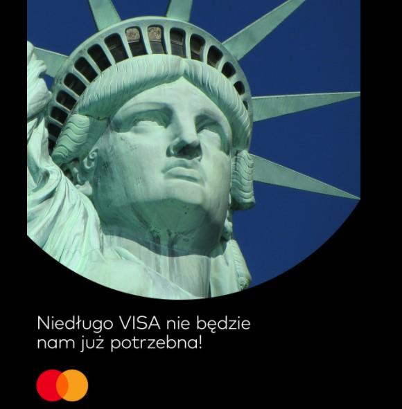 Niedługo VISA nie będzie nam już potrzebna
