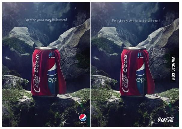 Pepsi coca-cola reklama porównawcza