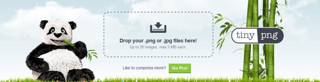 Zmniejszanie obrazka tinypng optymalizacja grafik